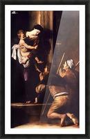 Madonna dei Pellegrini o di Loreto Picture Frame print
