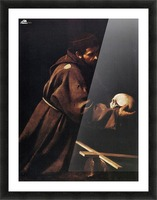 St Francis Picture Frame print