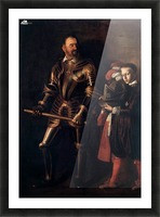 Knight of Malta Picture Frame print