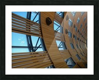 Paris Airport Picture Frame print
