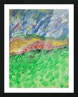 windy landscape Picture Frame print