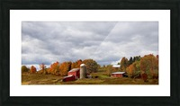Farm Rigor Hill Rd. New York 796 Picture Frame print