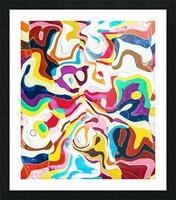 Bipolar Picture Frame print