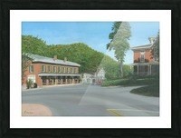 The Brick Store - Newtown Scenes 18 X 26  Picture Frame print