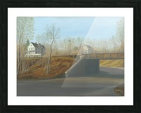 Botsford Underpass - Newtown Scenes  18X24 Picture Frame print