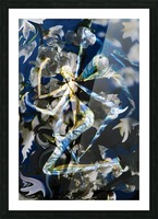 abstract winged angel Picture Frame print