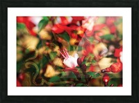beyond visible Picture Frame print