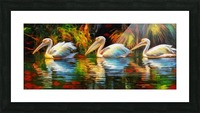 REFLECTION Picture Frame print