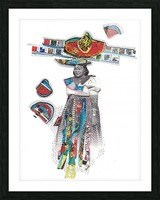 Herero Woman 7 Impression et Cadre photo