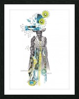 Herero woman 2 Picture Frame print