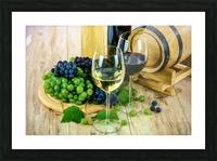 Wine Tasting Picture Frame print