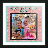 Papo's Princesses 2010 Picture Frame print