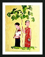 AS - Two Chinese Ladies Picture Frame print