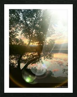 Stunning sunset Picture Frame print