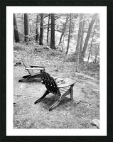 Relaxation spot  Picture Frame print