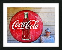 Coke   Picture Frame print