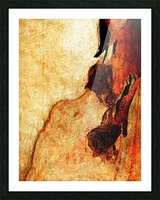 Murray Gum Tree Bark 3 Picture Frame print