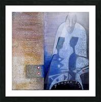 blue horserider 3 Impression et Cadre photo