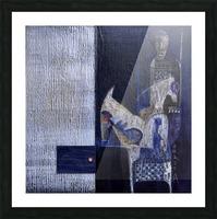 Blue Horserider 1 Impression et Cadre photo