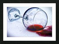 Wine Art 3 Picture Frame print