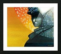 Femme soleil Picture Frame print