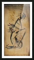 Japanese woman1 Picture Frame print