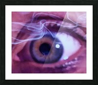 One eye Picture Frame print