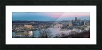 Pittsburgh Picture Frame print
