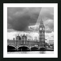 London Frozen in Time Picture Frame print