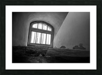 Prisoners View Picture Frame print