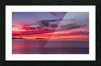 Late summer sunset DSC_3498 Picture Frame print