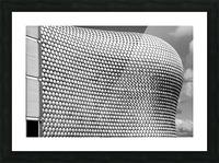Selfridge Building Birmingham Picture Frame print