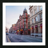 Liverpool street Picture Frame print