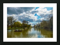 Stratford-Upon-Avon River Picture Frame print