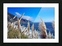 In the wind Picture Frame print