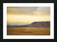 Square Butte Picture Frame print