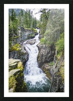 Big TImber Creek Picture Frame print