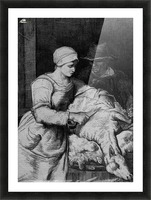 Sheep shearer Picture Frame print