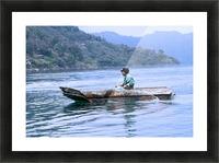 En Lago de Atitlan, Guatemala Picture Frame print