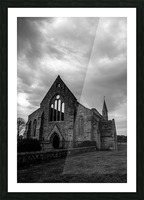 Garrison Church Portsmouth Picture Frame print