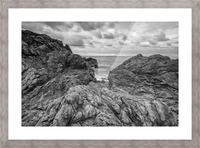 Rock of Ages Picture Frame print