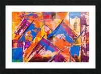 Modern art Picture Frame print