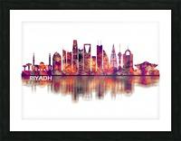 Riyadh Saudi Arabia Skyline Picture Frame print
