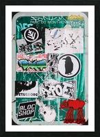 Mount Royal Graffiti Picture Frame print