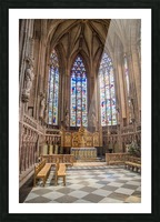 Litchfield Cathedral Picture Frame print