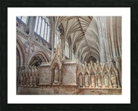 Litchfield Cathedral 3 Picture Frame print