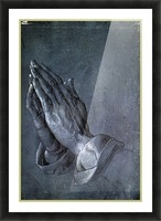 Hands of an Apostle Picture Frame print