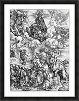The Revelation of St John The Sea Monster and the Beast with the Lambs Horn Picture Frame print