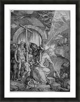 Christ in Limbo Picture Frame print
