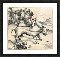 Monstrous Sow of Landser Picture Frame print